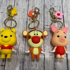 ‼️FIRM PRICE‼️Set of 3 Disney Character Keychains